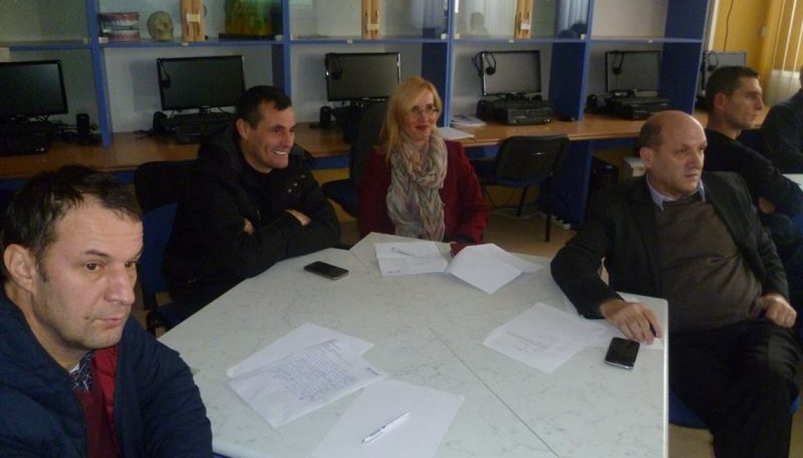 """The workshop on """"Strategic assessment on Career orientation and counselling, opportunities and strength """"has been held in Peja municipality"""